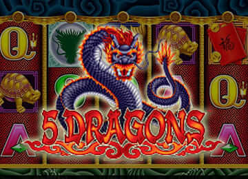 Play 5 Dragons Slot For Free